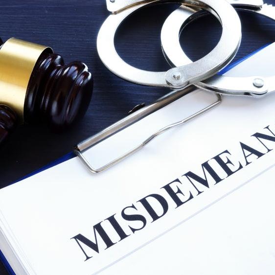 misdemeanor arrest