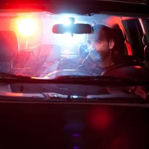 Photo of police car, siren, lights, cops, arrest
