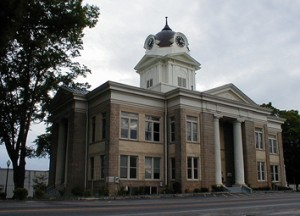 Photo of Franklin County courthouse