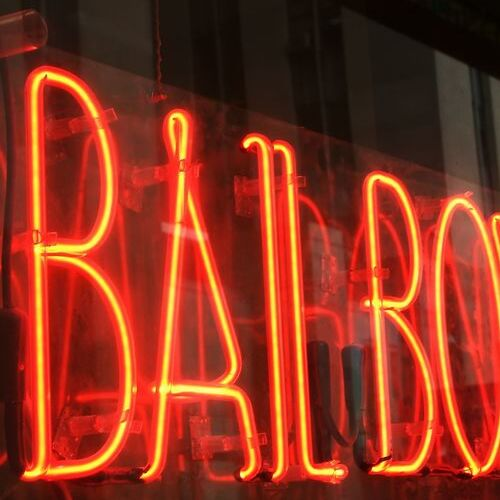 Disorderly conduct bail represented with bail bond shop sign